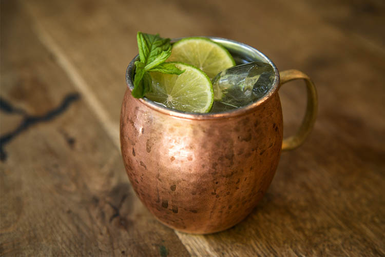 GINGER SPICE MULE